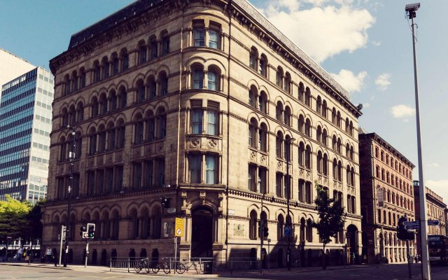 Townhouse Hotel Manchester вид на фасад
