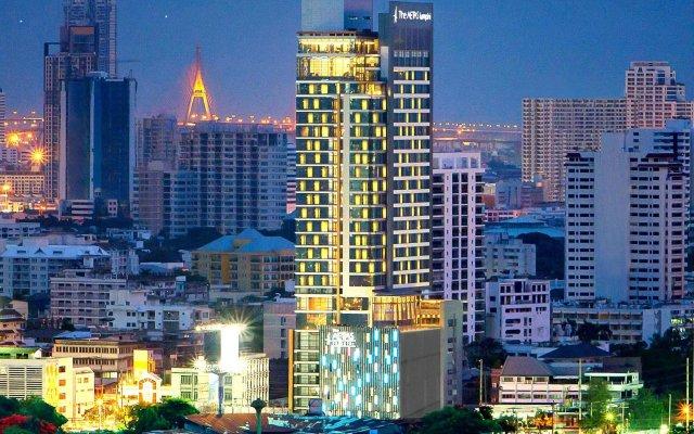 Отель Aetas Lumpini Бангкок вид на фасад