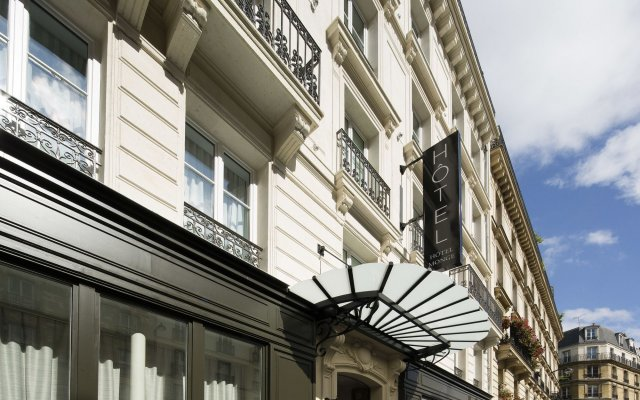 Hotel Monge Париж вид на фасад
