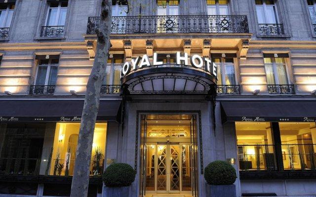 Отель Royal Hotel Paris Champs Elysées Франция, Париж - отзывы, цены и фото номеров - забронировать отель Royal Hotel Paris Champs Elysées онлайн вид на фасад