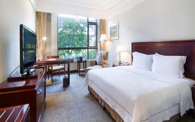 Отель Tongli Lakeview Hotel Китай, Сучжоу - отзывы, цены и фото номеров - забронировать отель Tongli Lakeview Hotel онлайн комната для гостей