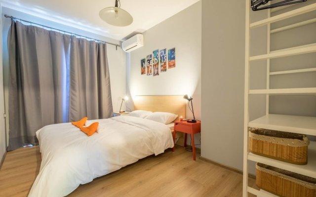 Апартаменты FM Deluxe 1-BDR Apartment - Style Meets Charm София комната для гостей