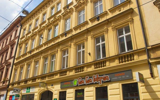 Апартаменты Lidicka Apartments вид на фасад
