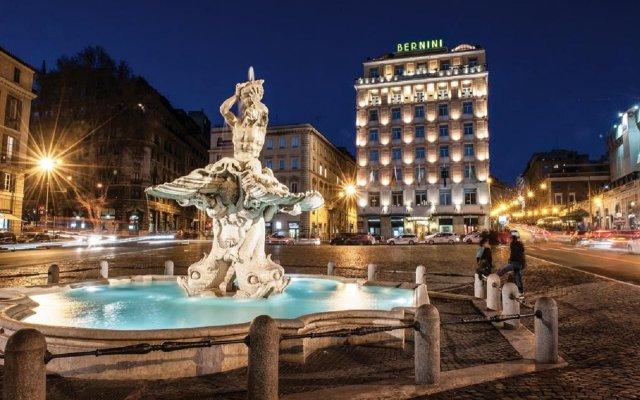 Отель Sina Bernini Bristol Италия, Рим - 1 отзыв об отеле, цены и фото номеров - забронировать отель Sina Bernini Bristol онлайн вид на фасад