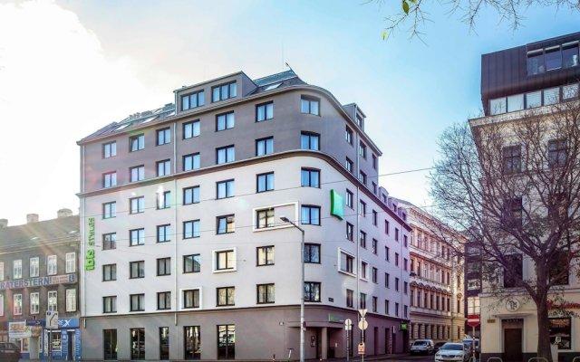 Отель ibis Styles Wien Messe Prater вид на фасад