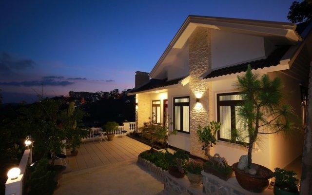 Отель Sen Da Villa - Succulent Villa Далат вид на фасад