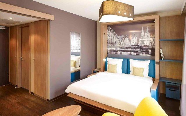 Отель Aparthotel Adagio Köln City Германия, Кёльн - 5 отзывов об отеле, цены и фото номеров - забронировать отель Aparthotel Adagio Köln City онлайн комната для гостей