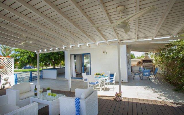 Отель Nicol Villas Кипр, Протарас - отзывы, цены и фото номеров - забронировать отель Nicol Villas онлайн вид на фасад