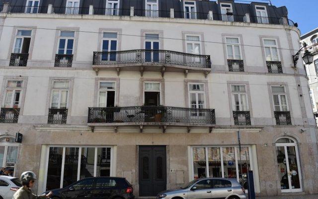 Апартаменты The Príncipe Real Lisbon Apartment вид на фасад