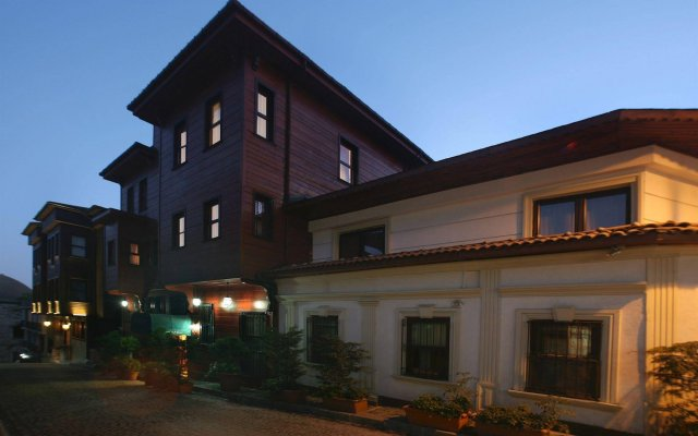 Мини-отель Garden House Istanbul Стамбул вид на фасад