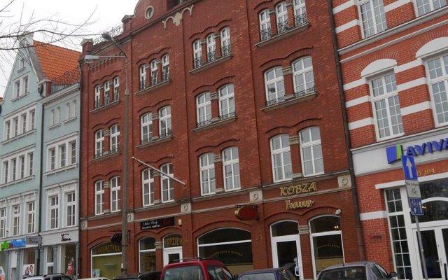 Отель Kobza Haus Польша, Гданьск - 1 отзыв об отеле, цены и фото номеров - забронировать отель Kobza Haus онлайн вид на фасад