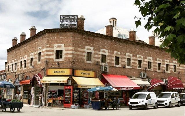 Tashan Hotel Edirne Турция, Эдирне - отзывы, цены и фото номеров - забронировать отель Tashan Hotel Edirne онлайн вид на фасад