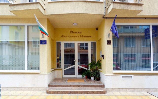Отель Апарт-Отель Дунав Болгария, София - отзывы, цены и фото номеров - забронировать отель Апарт-Отель Дунав онлайн вид на фасад