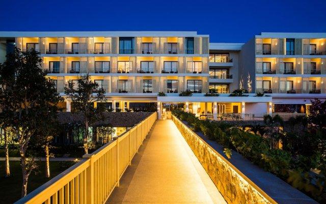 Отель Salinda Resort Phu Quoc Island вид на фасад