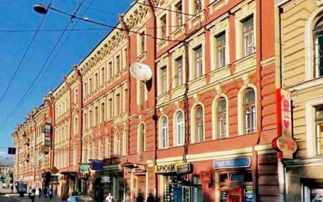 Мини-Отель Ринальди на Московском 18 вид на фасад