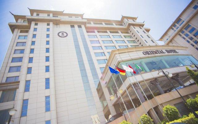Lagos Oriental Hotel вид на фасад
