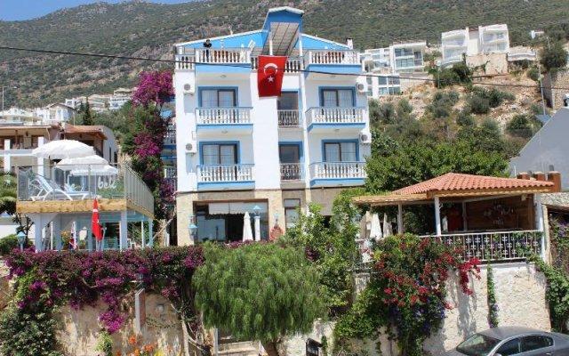 Kelebek Hotel Турция, Калкан - 1 отзыв об отеле, цены и фото номеров - забронировать отель Kelebek Hotel онлайн вид на фасад