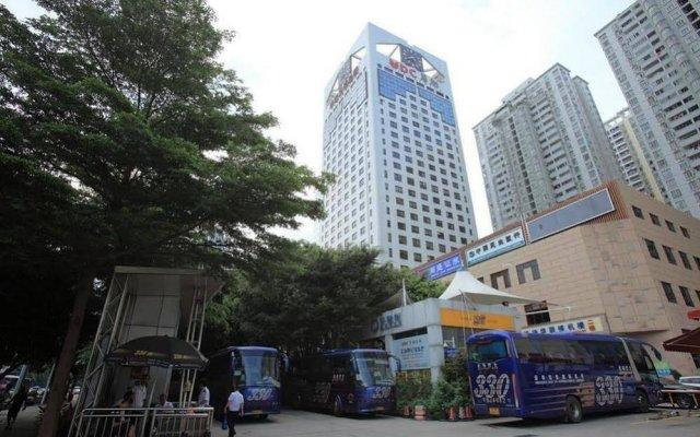 Отель Hualian Китай, Шэньчжэнь - отзывы, цены и фото номеров - забронировать отель Hualian онлайн вид на фасад