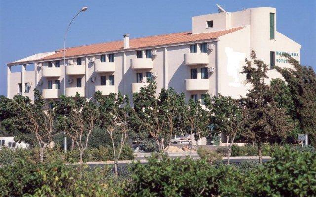 Отель Aparthotel Mandalena Кипр, Протарас - 4 отзыва об отеле, цены и фото номеров - забронировать отель Aparthotel Mandalena онлайн вид на фасад