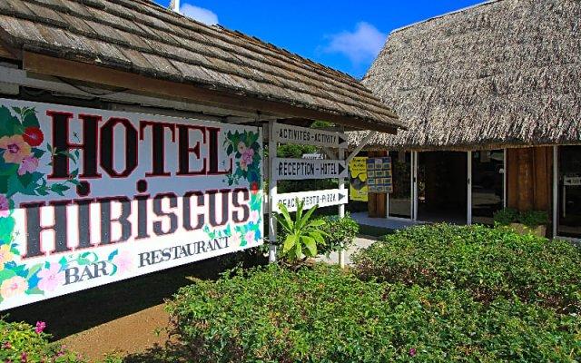 Отель Hibiscus Французская Полинезия, Муреа - отзывы, цены и фото номеров - забронировать отель Hibiscus онлайн вид на фасад