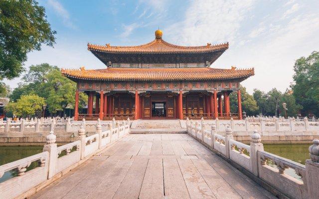 Отель Sardonyx Hotel Китай, Пекин - отзывы, цены и фото номеров - забронировать отель Sardonyx Hotel онлайн вид на фасад