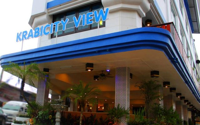 Krabi City View Hotel вид на фасад