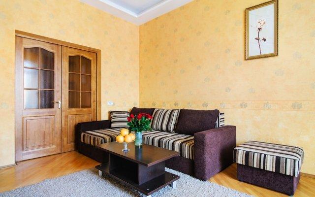 Апартаменты Apartments on Nemiga Минск комната для гостей