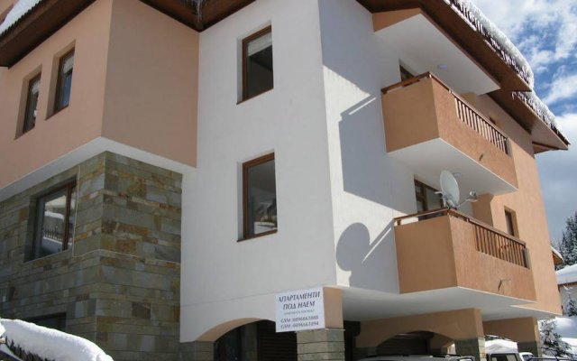 Апартаменты Krasi Apartments in Zornitsa Complex Чепеларе вид на фасад