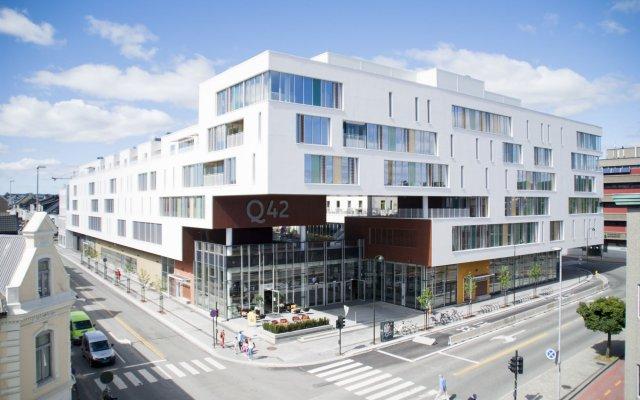 Hotel Q42 Кристиансанд вид на фасад