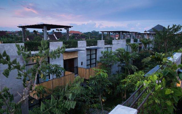 Отель Bisma Eight Ubud вид на фасад