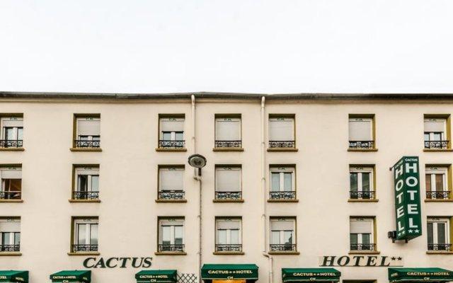 Отель Cactus вид на фасад