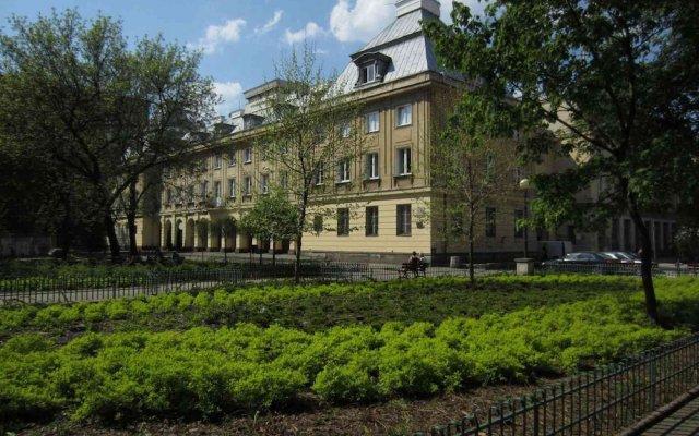 Апартаменты Unique Warsaw Center Apartment Варшава вид на фасад
