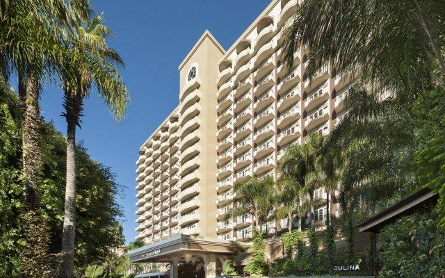 Отель Four Seasons Los Angeles at Beverly Hills вид на фасад