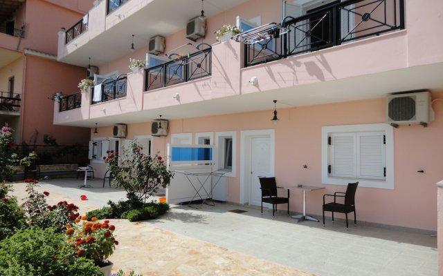 Апартаменты Galini on Sea Apartments вид на фасад