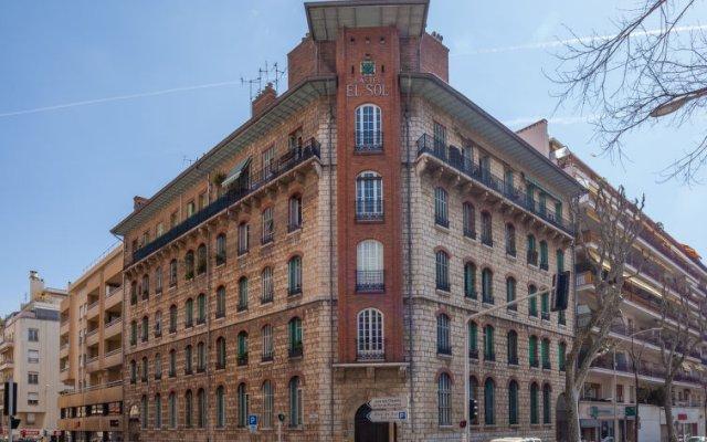 Отель Le Casa del Sol Франция, Ницца - отзывы, цены и фото номеров - забронировать отель Le Casa del Sol онлайн вид на фасад