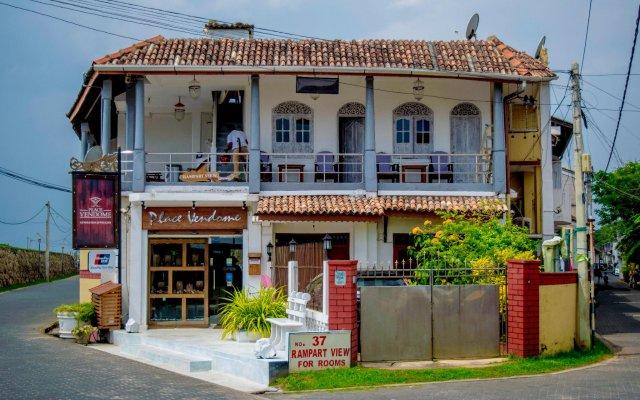 Отель Rampart View Guest House Шри-Ланка, Галле - отзывы, цены и фото номеров - забронировать отель Rampart View Guest House онлайн вид на фасад