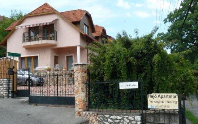 Отель Hejo Apartman Венгрия, Силвашварад - отзывы, цены и фото номеров - забронировать отель Hejo Apartman онлайн вид на фасад