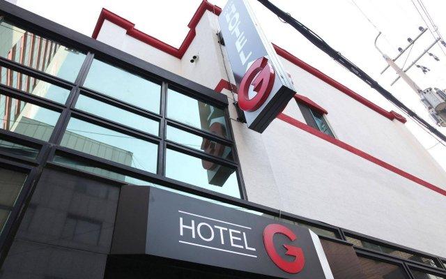 G Mini Hotel Dongdaemun вид на фасад