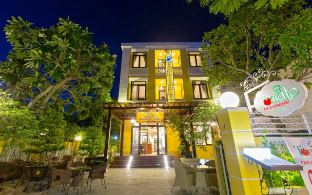 Hai Au Hotel Хойан вид на фасад