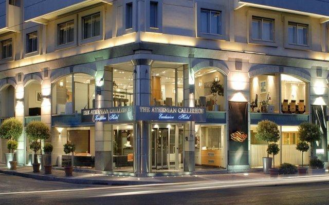 Athenian Callirhoe Hotel вид на фасад