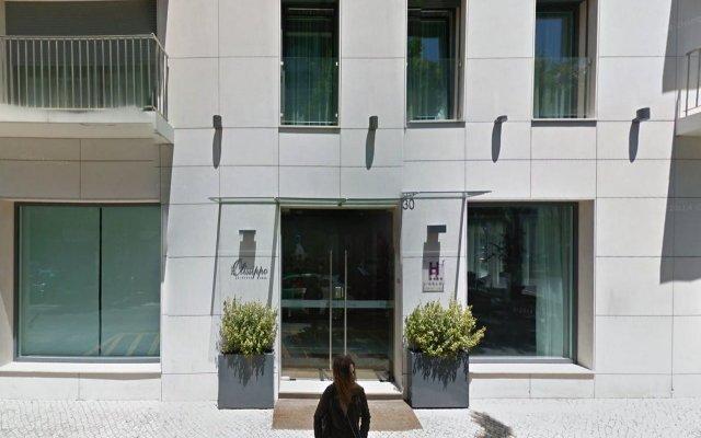Отель Olissippo Saldanha вид на фасад