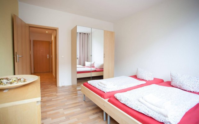 Апартаменты Aparion Apartments Leipzig Family комната для гостей
