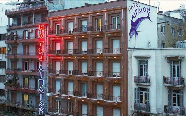 Aegeon Hotel вид на фасад