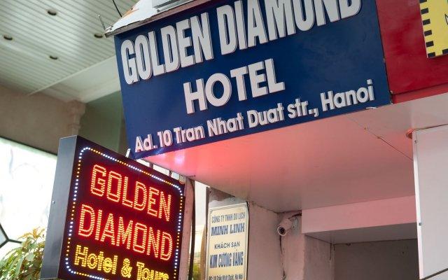 Отель Golden Diamond Hotel Вьетнам, Ханой - отзывы, цены и фото номеров - забронировать отель Golden Diamond Hotel онлайн вид на фасад