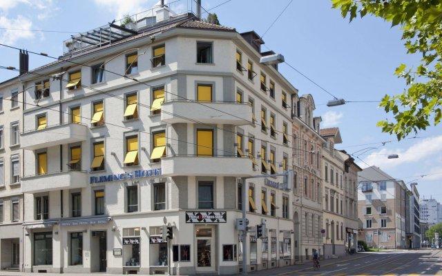 Flemings Hotel Zürich Цюрих вид на фасад