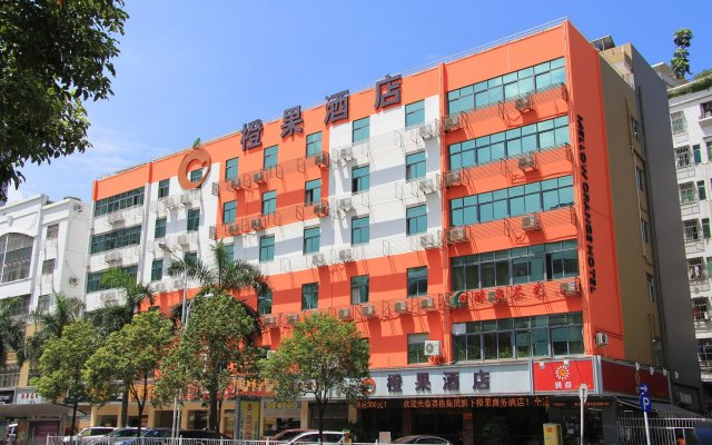 Mellow Orange Hotel вид на фасад