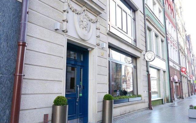 Отель Medusa Gdansk Гданьск вид на фасад
