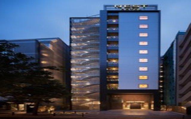 Отель Nest Hotel Tokyo Hanzomon Япония, Токио - отзывы, цены и фото номеров - забронировать отель Nest Hotel Tokyo Hanzomon онлайн вид на фасад