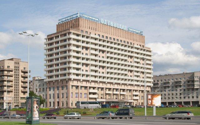 Гостиница Охтинская вид на фасад