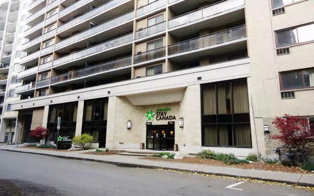 Отель Extended Stay Canada - Ottawa Канада, Оттава - отзывы, цены и фото номеров - забронировать отель Extended Stay Canada - Ottawa онлайн вид на фасад